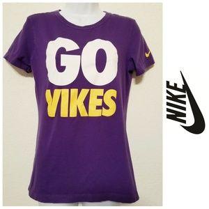Minnesota Vikings NikeTee- GO VIKES